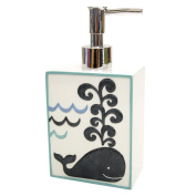 Allure Home Creations Whale Watch Resin Lotion Bottle