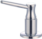 Aviditi Olympia Series ACS-903500-BN Soap and Lotion Dispenser, Brushed Nickle