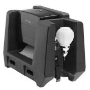 Cambro HWATD-110 Handwashing Station with Multi-Fold Towel Dispenser, Black