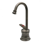 Whitehaus WHFH3-H65-PTR Forever Hot 13cm Instant Hot Water Dispenser with Gooseneck Spout
