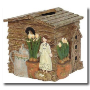 Gardening Angel Tissue Box Cover
