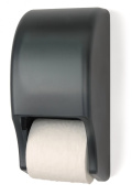 Palmer Fixture RD0028-01 Two-Roll Standard Tissue Dispenser, Dark Translucent