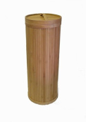 Eco Bamboo 3 Roll Toilet Tissue Holder Reserve