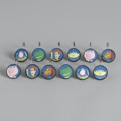 Toy Story 3 Shower Curtain Hooks