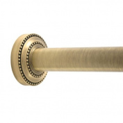 Allied Brass DT-98-BBR Shower Curtain Escutcheon, Brushed Bronze