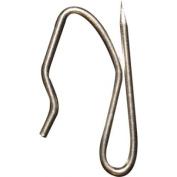 Drapery Pin Hooks, Plated Steel, 14/bag