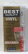 Ex-cell Home Fashions Inc 04800-0899-961 Shower Liner 70x78 Frost Heavy Duty Shower Liner