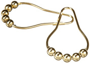 Heavy Duty Roller Shower Curtain Rings, Clipperton RollerRings®, Set of 12