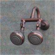Firstmate 2 Oil Rub Bronze Dual Shower Head