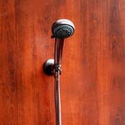 Voyager Oil Rub Bronze Hand Held Showerhead Kit