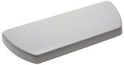 KOHLER K-84591-58 Well Worth Toilet Tank Cover, Thunder Grey