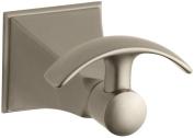 KOHLER K-492-BV Memoirs Robe Hook with Stately Design, Vibrant Brushed Bronze