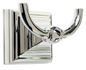 Amerock BH26512PN Polished Nickel Markham 7.6cm - 0.7cm Robe Hook from the Markham Collection