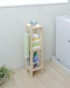 IRIS Slim Wooden Storage Rack, Natural