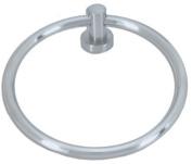 Atlas Homewares LBTR Linea Collection 16cm Round Towel Ring,