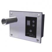 Amba ATW-DHC-B Digital Heat Controller, 15cm x 12cm , Brushed