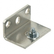 CRL70 Series Top Track Small Support Bracket by CR Laurence