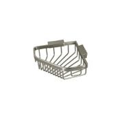 Deltana WBC6353CR003 Pentagon Corner Wire Basket Bathroom Shelf
