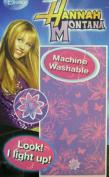 Disney Purple Flowers Light Up Hannah Montana Towel - Hannah Montana Bathtowel