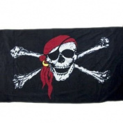 Pirate Beach Towel