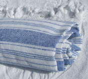 Peshtamal Peshtemal Pestemal Fouta Sarong Kikoy Towels for Beach - Dark Blue
