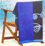Beach Towel 'Blue Sundunes'
