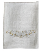 Passover Silver / Gold Embroidered Urchatz Netilat Yadayim Hand Towel