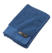 KUSUBASHI MON-ORI [Imabari Towel] DOUBLE STAR materi Tantoro Face Towel, Blue