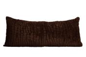 Plush Body Pillow Brown