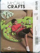 McCall's Craft Sewing Pattern M5150 Lizard Pillows in Two Sizes