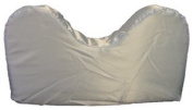 Satin Style Saver Pillow With Neck Cut-out * Blue
