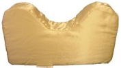 Satin Style Saver Pillow With Neck Cut-out * Ecru