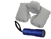 Inflatable Double Layer Pillow