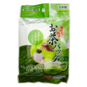 Daiso Japan Loose Tea filter Bag, 9.4cm x 7.1cm