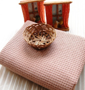 Fina Ultra ABSORBENT Microfiber Waffle Towel - 2 set of Body(70cm x 140cm ) towel in Coffee colour ONLY.