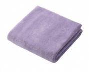 Microfiber towel dry hair purple 100 x 40cm