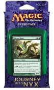 Magic the Gathering (MTG) Journey Into Nyx Intro Pack / Theme Deck - The Wilds and the Deep - Green