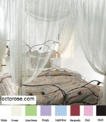 4 Corner / Poster Bed Canopy Mosquito Net Full Queen King