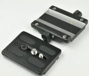 ephoto replacement quick release plate with Base Mount for fluid tripod head 717AH