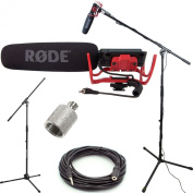 RODE VideoMic Studio Boom Kit - VM, Boom Stand, Adapter, 7.6m Cable