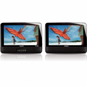 Philips PD9012/17 23cm Widescreen Portable DVD Player w/Additional LCD Screen