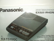 Panasonic KX-T5100 C Automatic Telephone Answering System