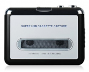 New Tape to PC Super USB Cassette to MP3 Converter Capture Audio Music Player