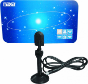 NAXA Electronics NAA-306 Ultra-Thin Flat Panel Style High Powered Antenna Suitable for HDTV and ATSC Digital Television