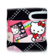 Hello Kitty Plush Throw Pink Heart Black