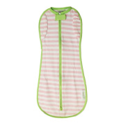 Woombie Convertible, Pink Stripes Non Vent, Newborn 2.3-5.9kg