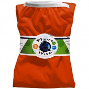 Planet Wise Reusable Nappy Pail Liner, Tangerine