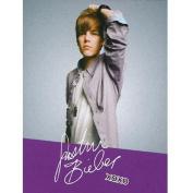 "Justin Bieber ""JB Signature"" XOXO Fleece Throw Blanket 130cm x 150cm"