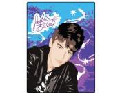 Justin Bieber Starburst Twin Size Super Soft Blanket