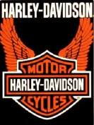 Harley-Davidson Royal Plush Raschel Throw Blanket 150cm x 200cm